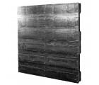 36 x 40 Heavy Duty Solid-Deck Rackable Plastic Pallet - Plastic Pallet Creations ppc3640-3 OWS PP-S-3640-RC Standing 3-4