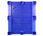 40 x 48 Blue Rackable Plastic FDA Pallet - Decade PNH2001BL OWS PP-S-40-S5FDA Standing Bottom