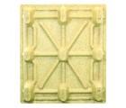 40 x 48 Molded Wood Pallet - Medium Duty Litco Inca IE134840 OWS PW-S-4048-NM Standing Bottom HeadOn