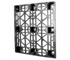40 x 48 nestable heavy duty pro-pal_plastic pallet - full circle fcp-o-40-nm ows pp-o-40-nm standing 3/4