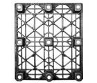 40 x 48 nestable heavy duty pro-pal_plastic pallet - full circle fcp-o-40-nm ows pp-o-40-nm standing bottom