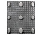 40 x 48 Nestable Solid Deck Plastic Pallet Medium Duty - Rotational Molding of UT The Bruin OWS PP-S-4048-NL8 Standing Bottom