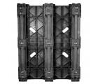 40 x 48 Rackable Plastic Runner Pallet - CABKA CPP 323C OWS PP-S-40-RR Standing Bottom HeadOn