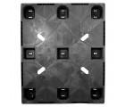 40 x 48 Rackable Plastic Runner Pallet - CABKA CPP 323C OWS PP-S-40-RR Standing Top HeadOn