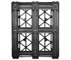 40 x 48 Rackable Stackable Cross Frame Pallet - Cabka #CPP 336 ACM OWS PP-O-40-RX Standing Bottom HeadOn