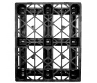 40 x 48 Rackable Stackable Cross Frame Pallet - Cabka CPP 336 ACM OWS PP-O-40-RX Standing Top Head On