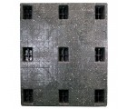 40 x 48 Solid Deck Rackable Plastic Pallet - Rotational Molding of UT The Kodiak OWS PP-S-4048-R8 Standing Top HeadOn