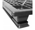 40 x 48 Stackable Light Duty Plastic Pallet 3 Runner Assembled OWS PP-O-40-SL7A Repose Corner Top
