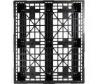 40 x 48 Stackable Med-Heavy Duty Plastic Pallet OWS PP-O-40-SH7 - head on - Top