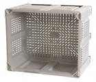 40 x 48 x 31 Vented Container Bin OWS CP-O-40-F Decade D48PGY02BK - Top View