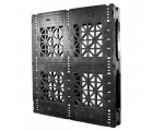 44 x 48 Rackable Stackable Plastic Pallet w/3 Reinforcing Rods - Greystone GS.44.48.003 OWS PP-O-4448-R-003 Standing 3-4