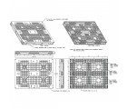 44 x 56 Plastic Can Pallet - Greystone GS.44.56.000 OWS PP-O-44-C1 Schematic