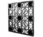 45 x 45 Nestable Plastic Pallet - CABKA CPP 440 OWS PP-O-4545-N Standing 3-4