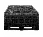 45 x 48 x 42 Solid Wall Collapsible Plastic Container - OWS CP-S-45-C-45 TDP-4845-42 Top Repose Top HeadOn 1