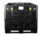 45 x 48 x 42 Solid Wall Collapsible Plastic Container - OWS CP-S-45-C-45 TDP-4845-42 Top Repose Top HeadOn 2