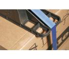 "48"" Plastc Pallet Strapping Beams - CABKA SB-48-1 - OWS SB-48-1 - Repose Top Laden Closeup"