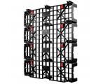 48 x 40 Nestable Light Duty Plastic Build-A-Pal Pallet - Fastlock FLP-02-003 OWS P-O-40-NFL Standing 3-4 4