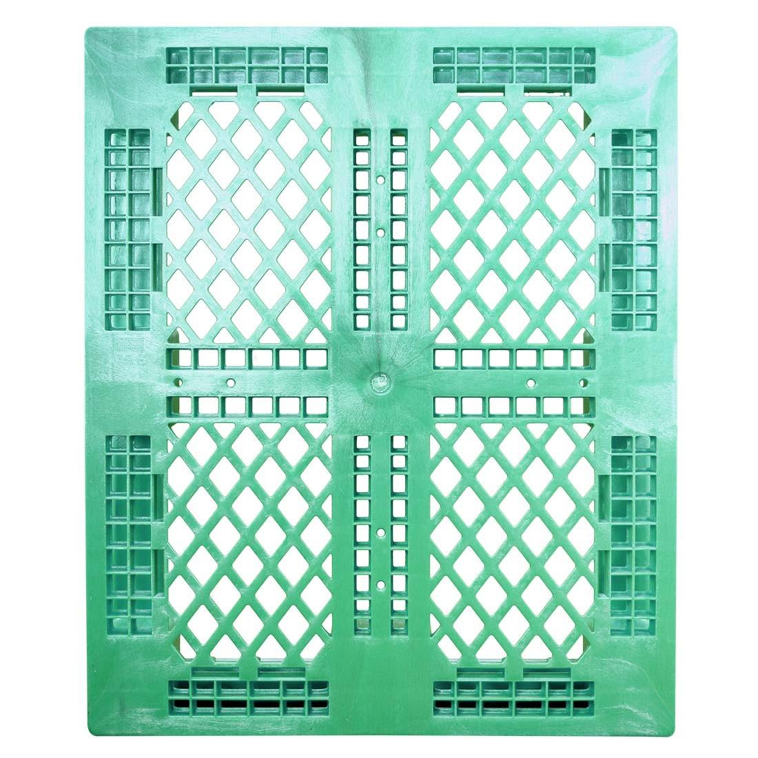 40 x 48 Rackable FDA Plastic Pallet - Green