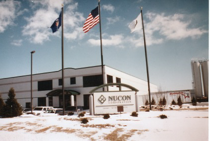 In 1995, the Nucon plastic pallet molding facility opened in Plesant Prairie, Wisconsin.